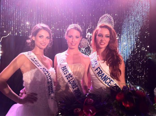 Mélinda Paré est Miss Pays de Loire 2012