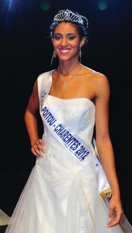 Tiphaine Soulat est Miss Poitou-Charentes 2012