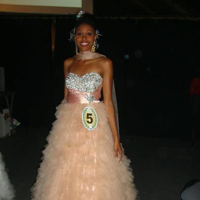 Corinne Buzaré est Miss Guyane 2012