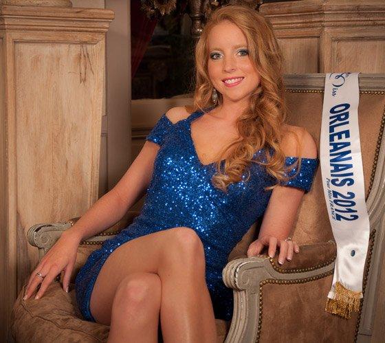Joy Lartigue est Miss Orléanais 2012
