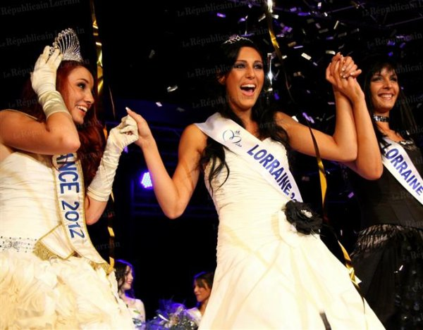Divana Pljevalcic est Miss Lorraine 2012