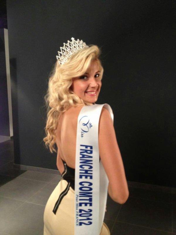 Charlène Michaut est Miss Franche-Comté 2012