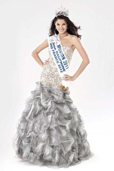 Marie Payet, Miss Réunion 2011 et 2ème dauphine de Miss France 2012, représentera la France à Miss Univers 2012 le 19 Décembre à Las Végas