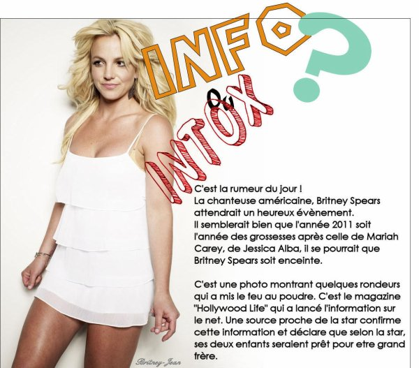 Britney enceinte ?