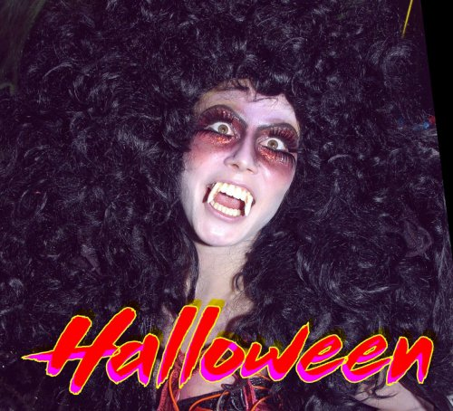 les cottege d'Halloween sont interit