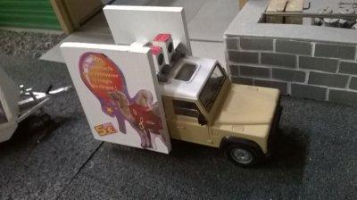 Mon vehicule pub !!!!!
