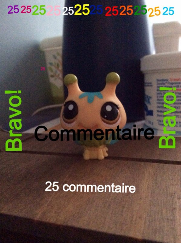 Concours 25 comms!