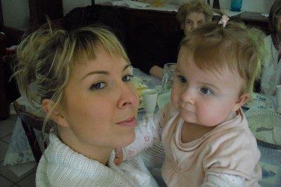 ma soeur et ma nièce LEA !!!!!
