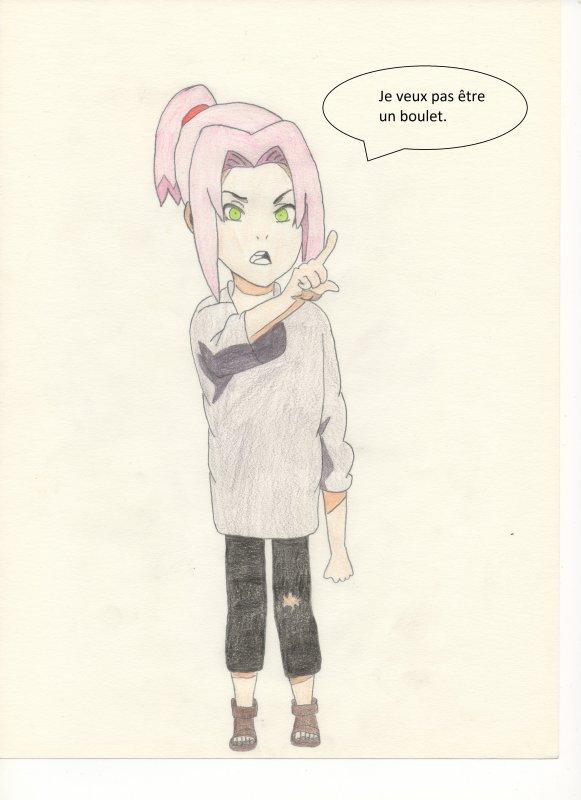 Chapitre 2 : Sakura veux pas être un boulet