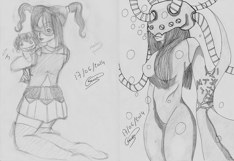 Mes petits dessins bis et dessin pour le concours