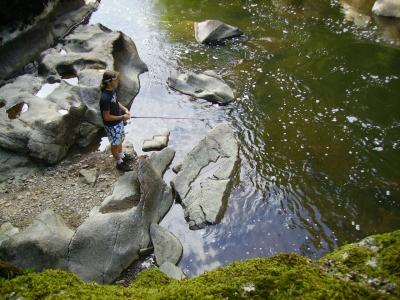 session pont du modour août 2006