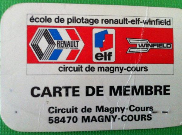 Ecole de pilotage a Magny Cours