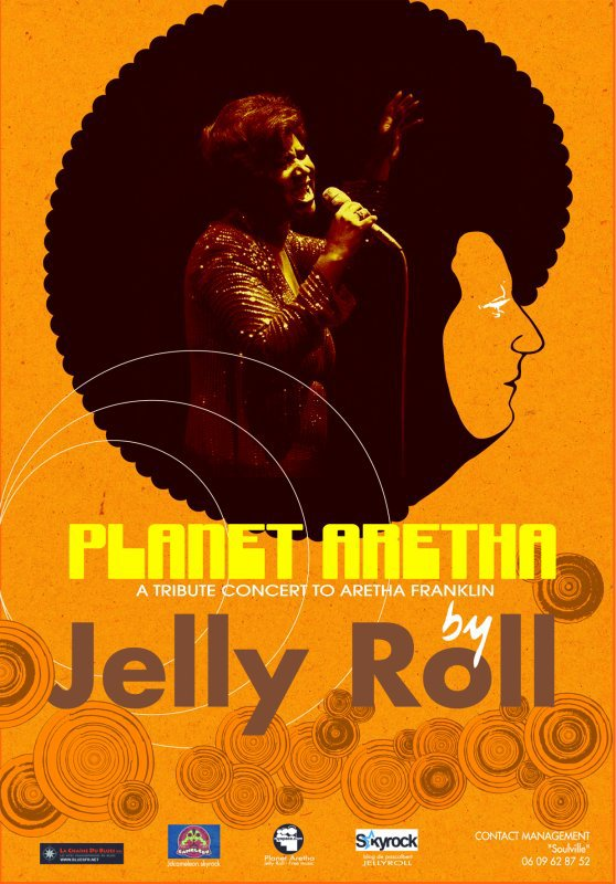DEMO SPECTACLE ( PLANET ARETHA by JELLY ROLL )