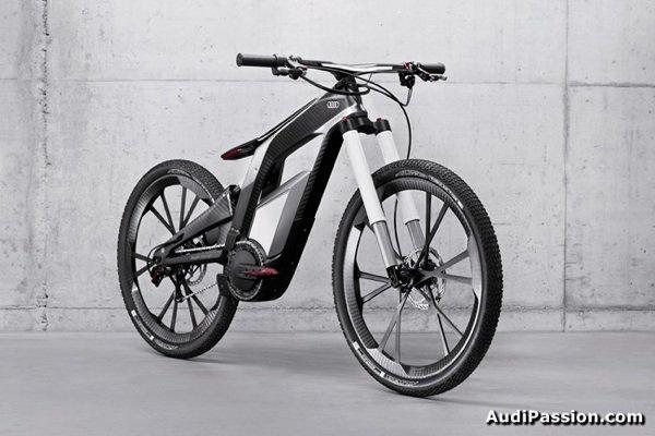 vélo tout terrain électrique de Audi