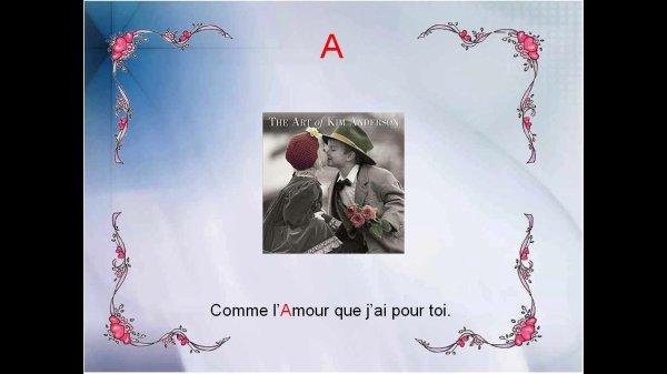 L'alphabet des amoureux !