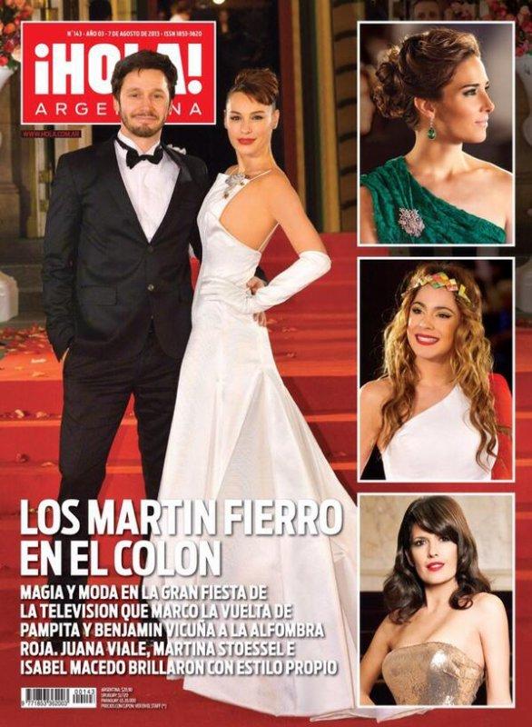 tini en couverture du magazine hola ! argentina
