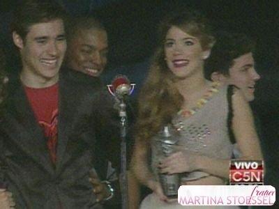 au music awards 2013 - c5n vivo !