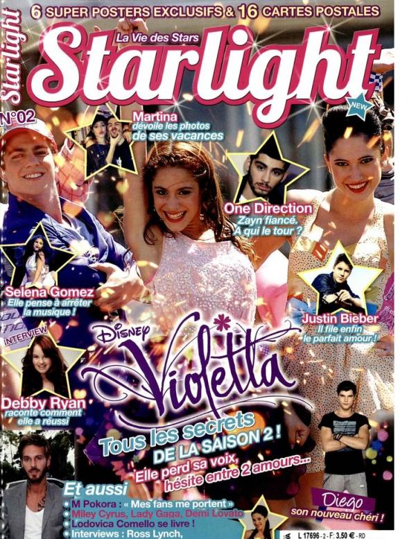 violettta 2 episode 56 - violetta magazine - violetta 2- starlight 2 - violetta 2