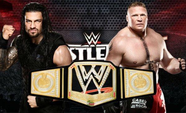 WWE : Règne de romain ne peut pas être le « gars Top » pour Brock Lesnar à WrestleMania 31,