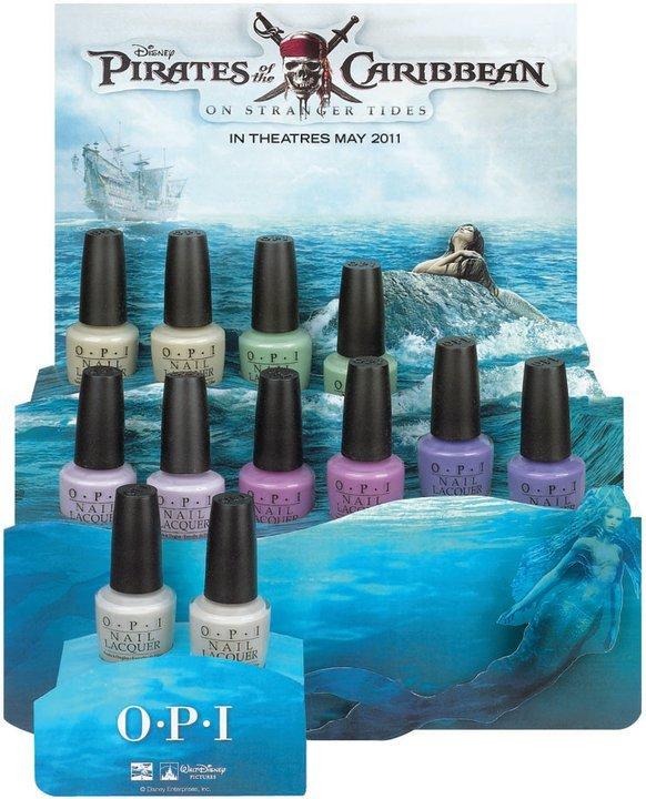 OPi - Le vernis magique pour des doigts de fée, ou de sirène, au choix.