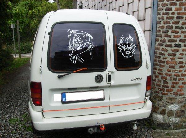 mon caddy vw