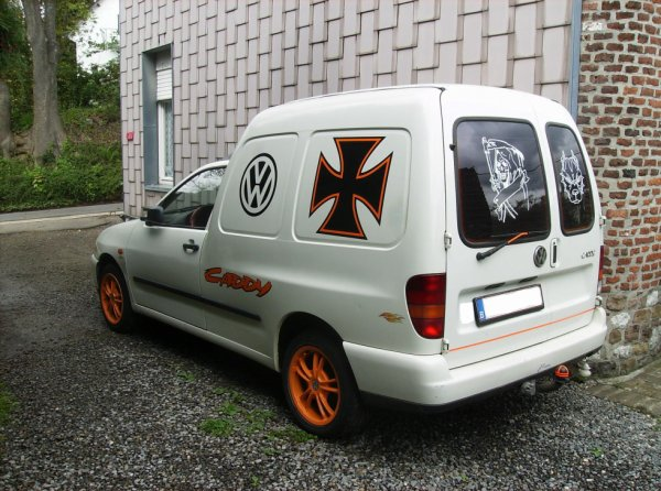 mon caddy vw
