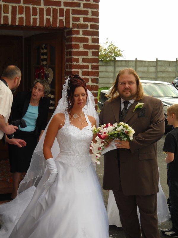 notre mariage le 18 septembre 2010