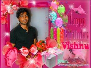 Happy Birthday Vishnu