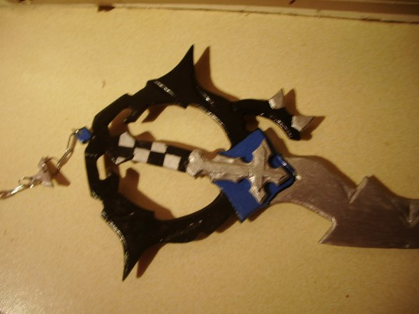 ma keyblade pour mon cosplay JE 2013