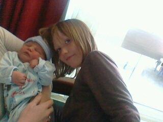 mon fils et ma niéce
