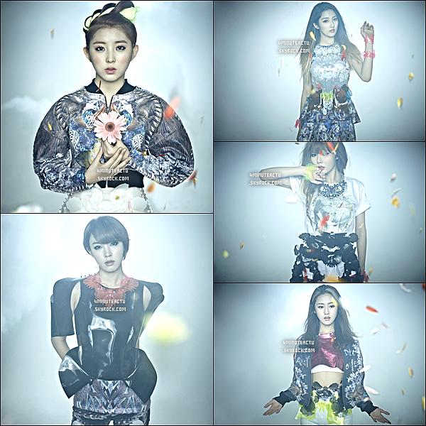 27/04/13 : 4Minute révèle des photos pour le comebackde « What's Your Name »   .