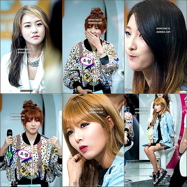 27/04/13 : Les4Minuteontparticipédans l'émission Mnet Wide Studio   .