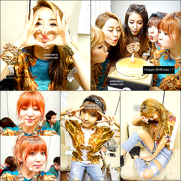 27/04/13 :Comeback stage de 4Minute au Music Bank du 26 avril! Watever + What's Your Name  .