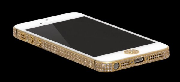 iPhone avec des diamants
