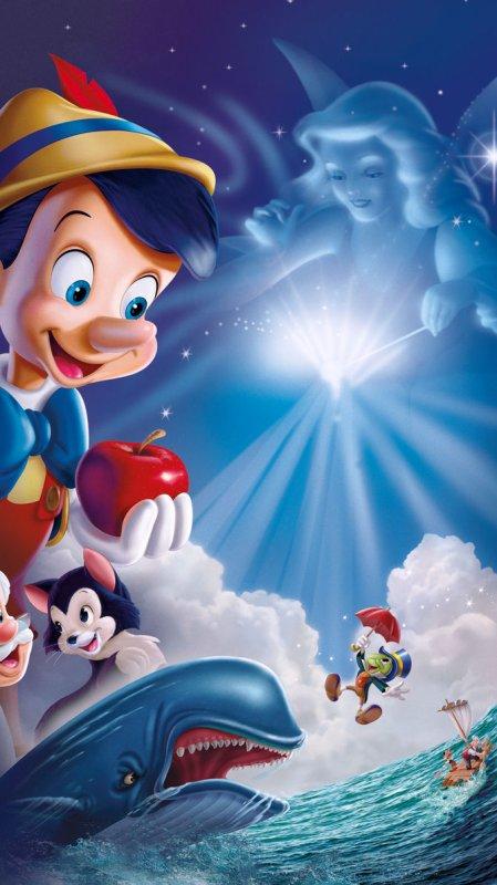 2. Pinocchio — 1940