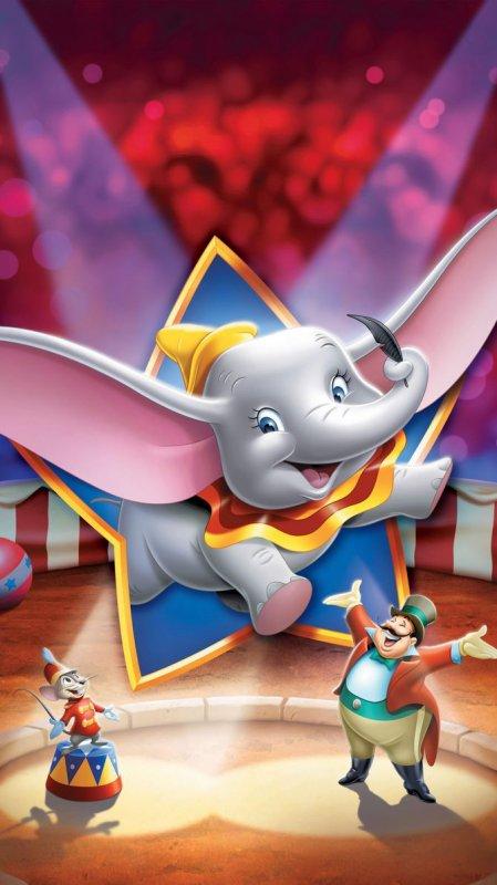 4. Dumbo, l'éléphant volant — 1941