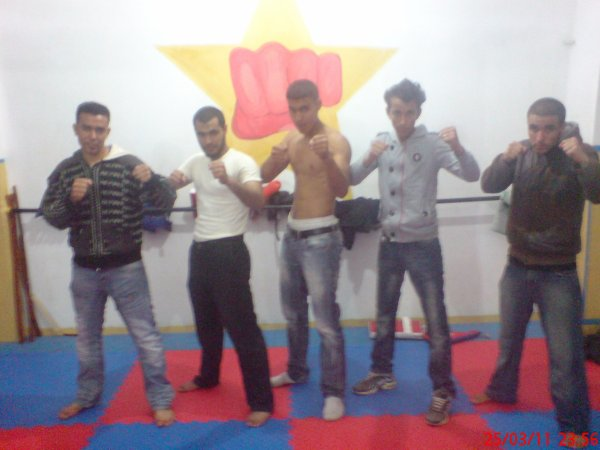 me and my friends in gym