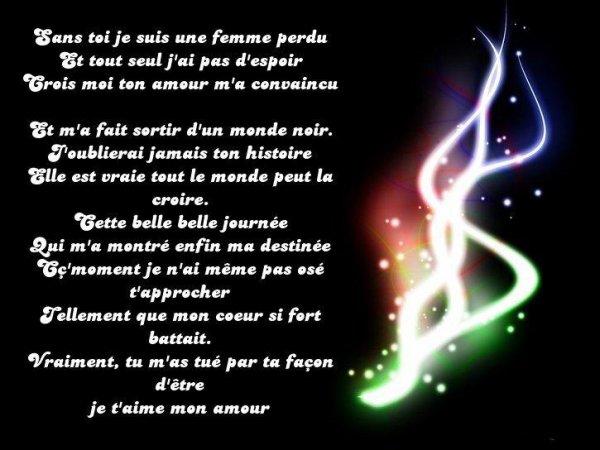 Poème 22 Fais Par Donnia L Ce Blog Aura Tt Nos Poème