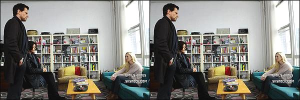 ____• TV SHOW • EMILY DANS SON RÔLE POUR LA SÉRIE FOREVER.
