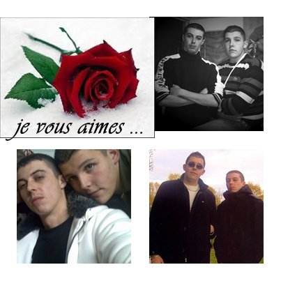 mes fils , mes amours .....