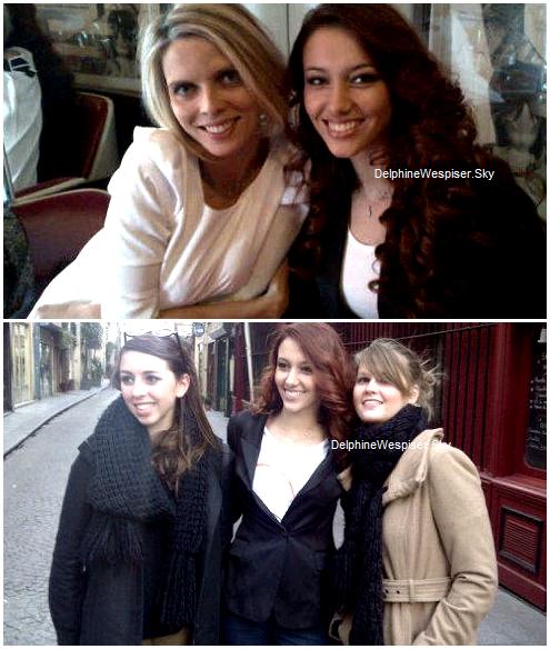 18/01/12 : Delphine au Maroc et Twitter de Sylvie