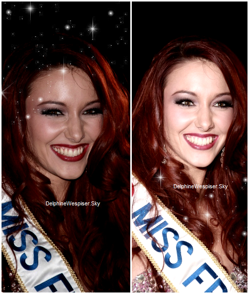 28/01/12 : Delphine aux NRJ Music Awards