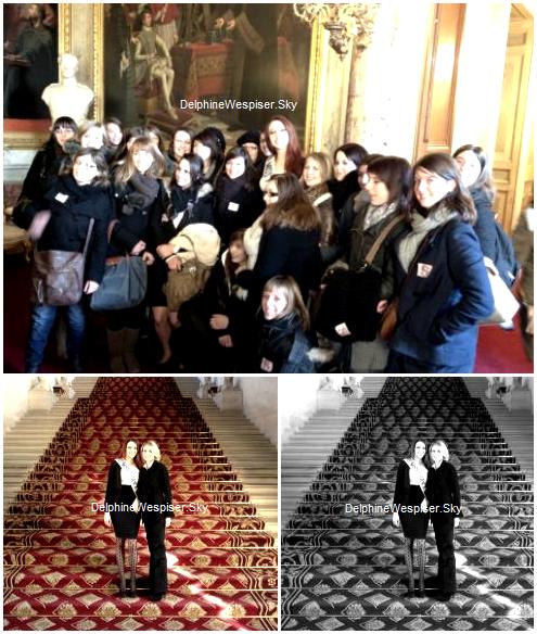 02/02/12 : Delphine en Lorraine et des photos du Twitter de Sylvie et de Delphine au Sénat