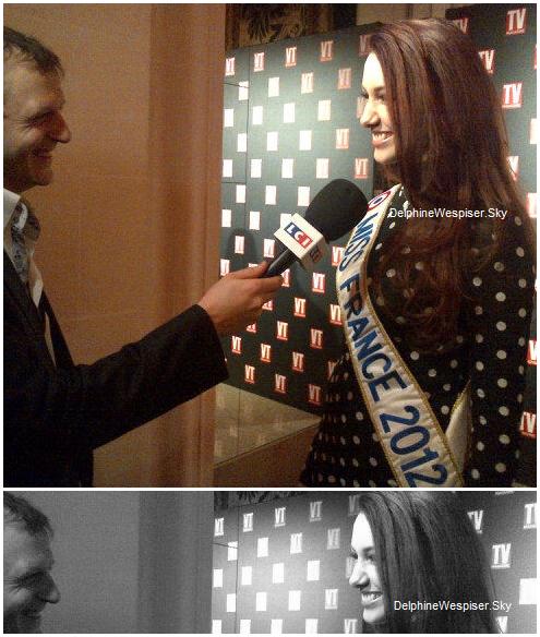 08/02/12 : Delphine aux 25 ans de TV MAG