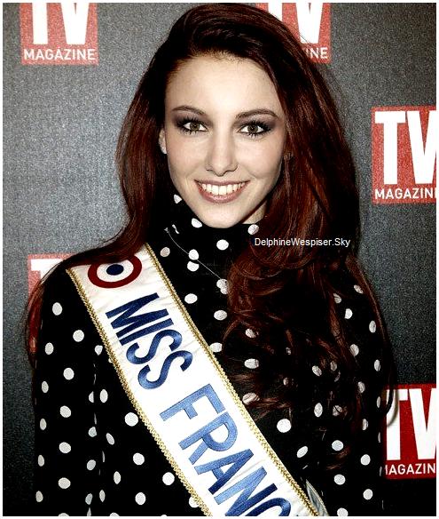 09/02/12 : Delphine aux 25 ans de TV Mag