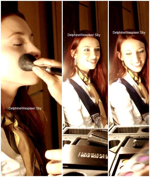 15/02/12 : Les premiers jours de Delphine chez Elysées Marbeuf