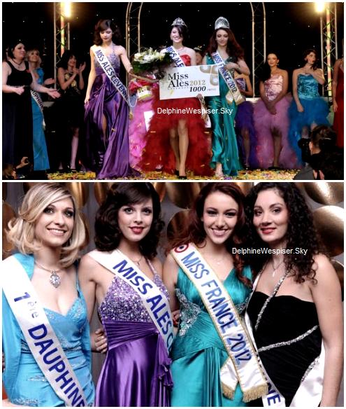 20/02/12 : Manon Sadoul, nouvelle Miss Alès pour Miss Languedoc-Roussillon