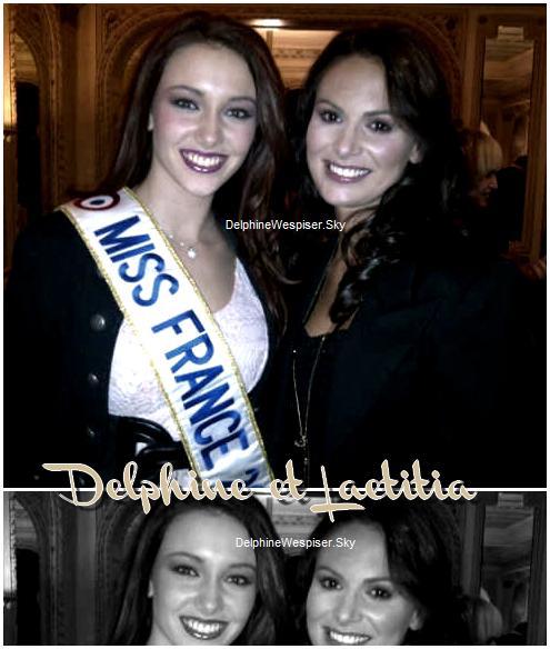 27/02/12 : Delphine et Sylvie à l'Elysée et au Salon de l'Agriculture