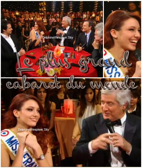 25/02/12 : Delphine au plus grand cabaret du monde