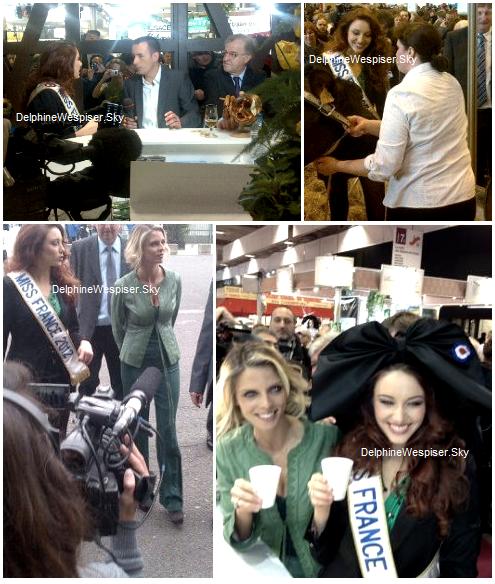 01/03/12 : Delphine au salon de l'Agriculture 2012